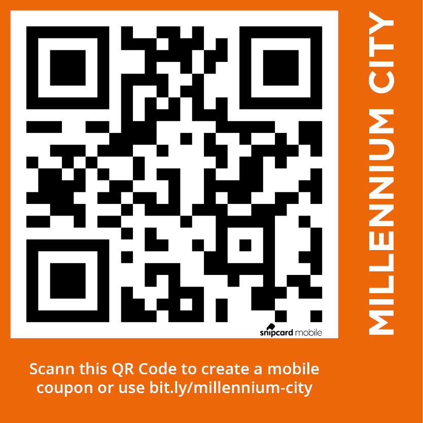 Millennium City mobile coupon