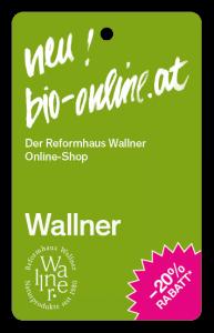 Reformhaus Wallner snipcard