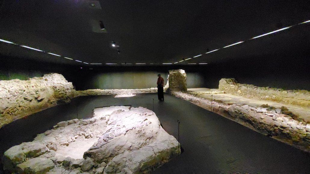 Museum Judenplatz Fundamente der mittelalterlichen Synagoge