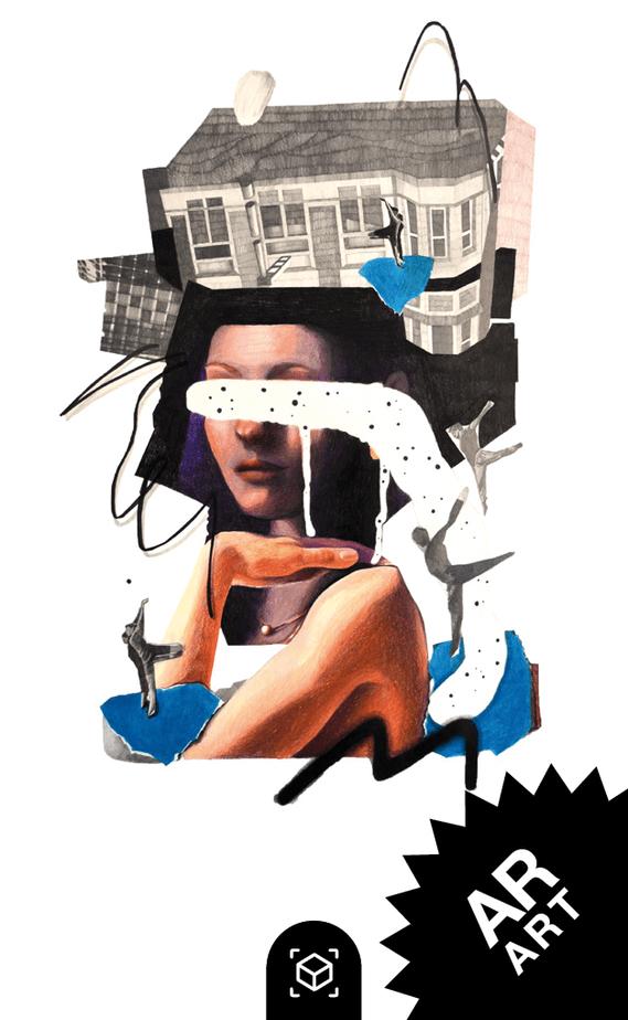 snipcard Augmented Reality, Künstlerin Nicole Wogg