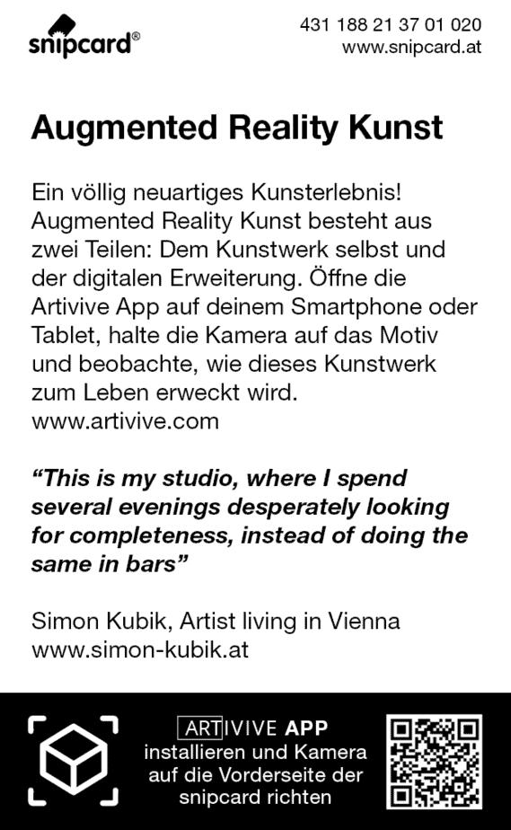 AR ART snipcard Simon Kubik RS