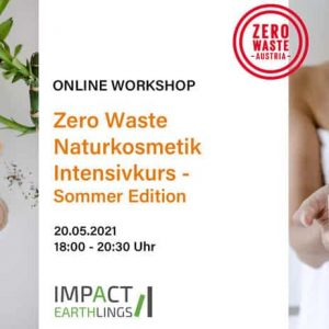 Info zu Naturkosmetik Intensivkurs von Zero Waste Austria