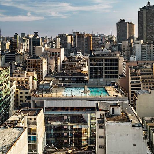 Paulo Mendes da Rocha und MMBB Architekt*innen: SESC 24 Maio, São Paulo, Brasilien, 2017 © Foto: Nelson Kon