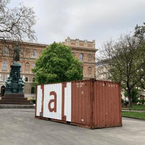 Bureau Veritas - Ausstellungscontainer der Akademie der bildenden Künste